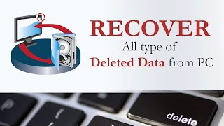 Recover deleted Data with Stellar Phoenix Windows Data Recovery