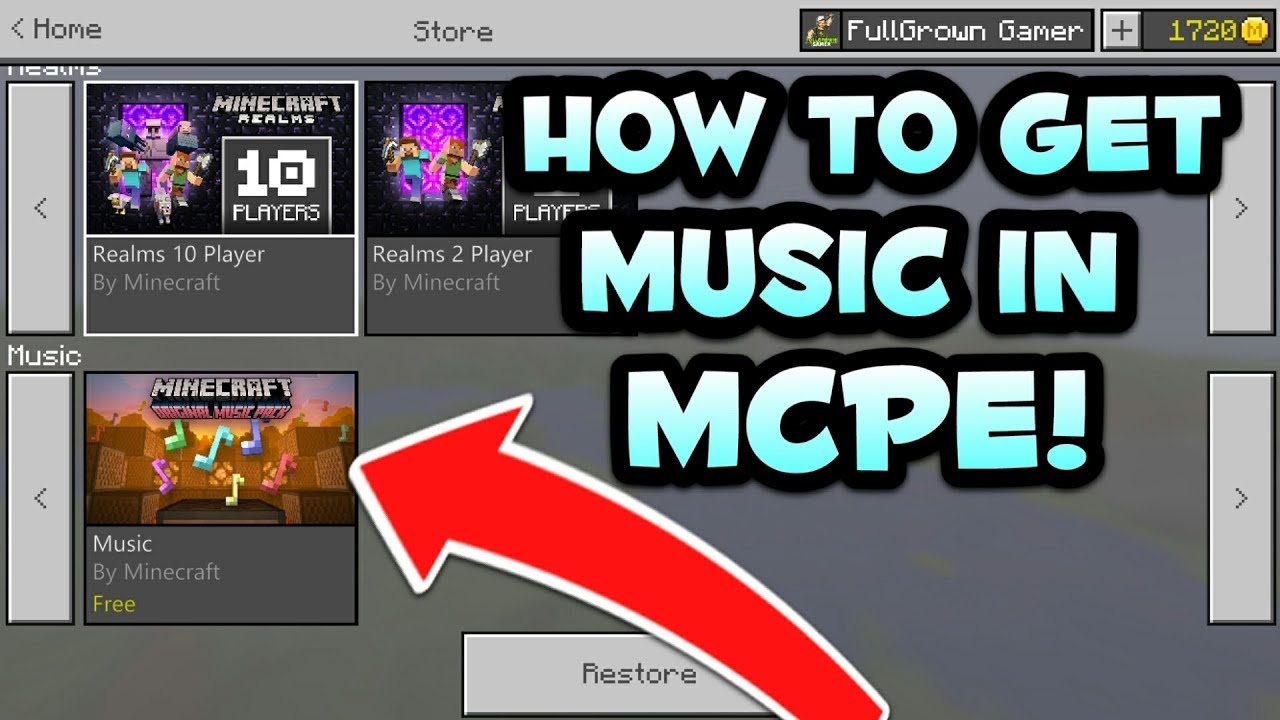 How to get ingame music in minecraft pe background music for how to get ingame music in minecraft pe background music for minecraft pocket edition voltagebd Image collections