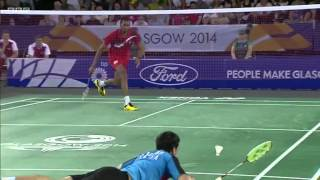 Mixed Team SF - IND vs ENG - 2014 Commonwealth Games badminton