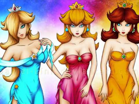 Piece Of Heaven - Peach, Daisy & Rosalina Tribute
