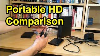 Seagate Portable Hard Drive Comparison Extension V Backup Plus Slim 1TB HD