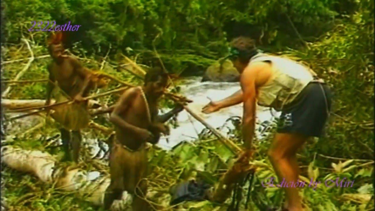 Племя Toulambis. Первая встреча с белым человеком