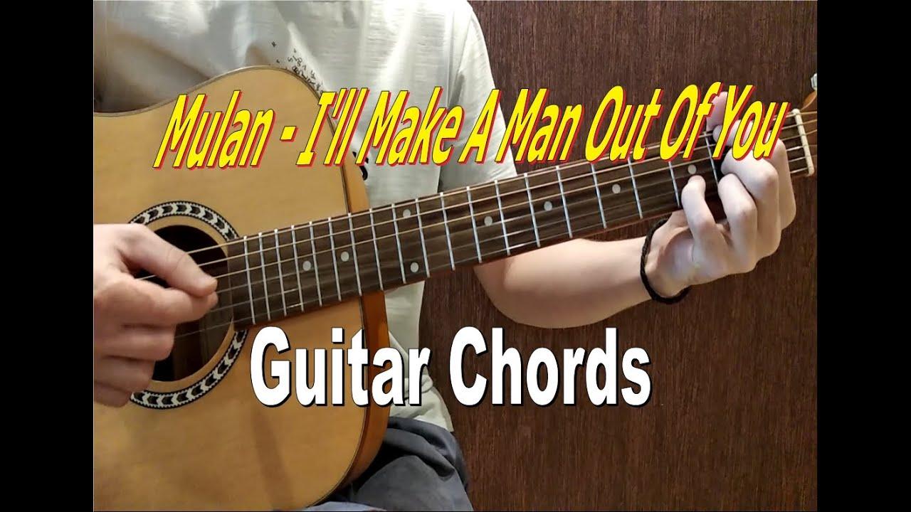Mulan OST   I'll Make A Man Out Of You   Guitar Chords
