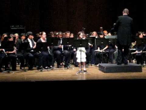 Natalie Dungey, Trumpet, age 9, Maid of the Mist by Clarke, University of Washington