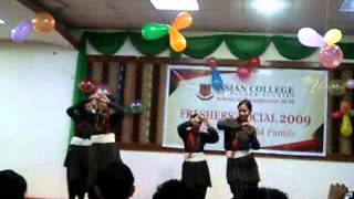 english song + newari dance goes well together(funny)