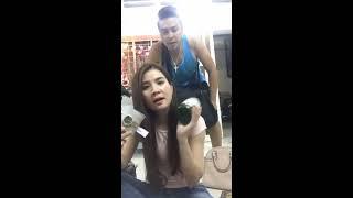 Kha Ly mắc cỡ khi hôn tạm biệt Thanh Duy