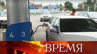 Журналисты Первого канала лично проверили, сколько наливают топлива на автомобильных заправках.