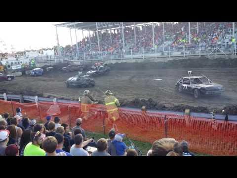 Stock Midsize heat 2- Steele County Fair 2016