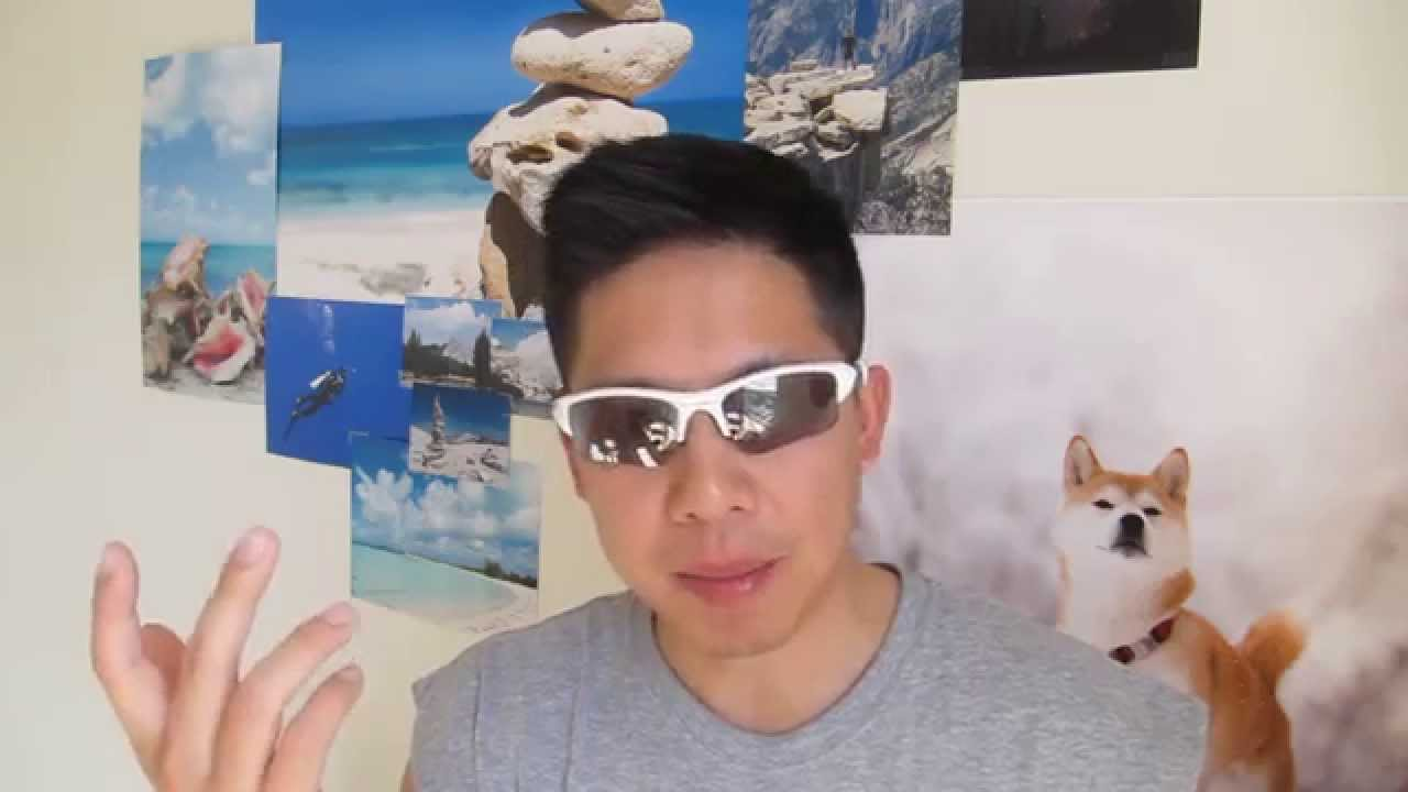 0b6ac4b250164 Oakley Flak Jacket XLJ Asian Fit - How it fits on my Asian face - YouTube
