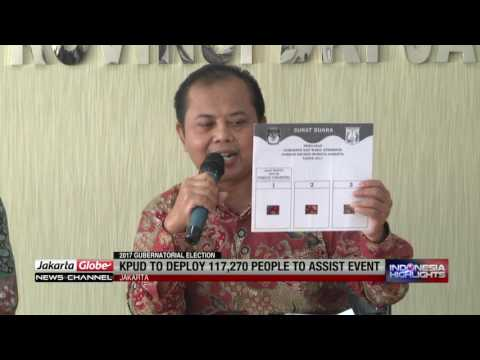 Jakarta KPU To Deploy 117,270 Election Workers
