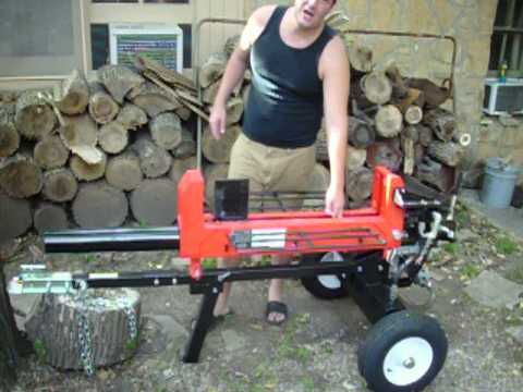 Harbor Freight Predator 20 Ton Log Splitter Review