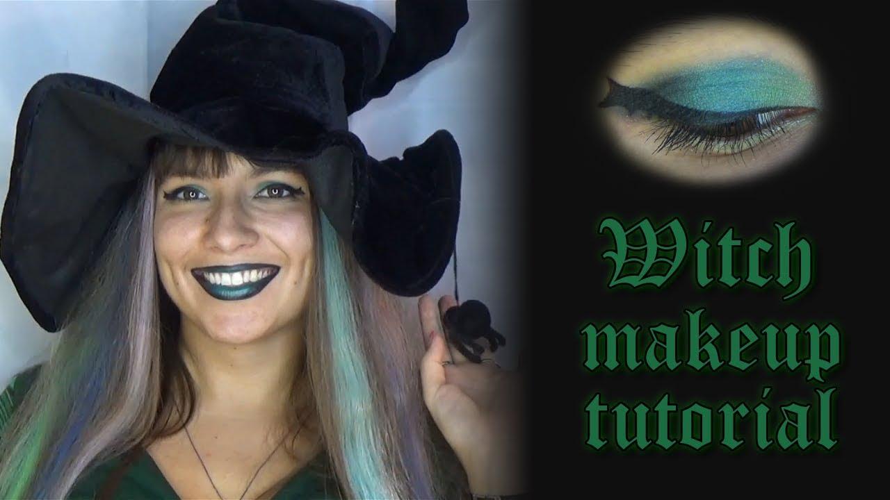 Witch halloween makeup tutorial a bat wing smoky eye and dark witch halloween makeup tutorial a bat wing smoky eye and dark ombre lips baditri Images