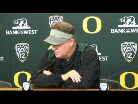 Chip Kelly 10/23/12 Press Conference
