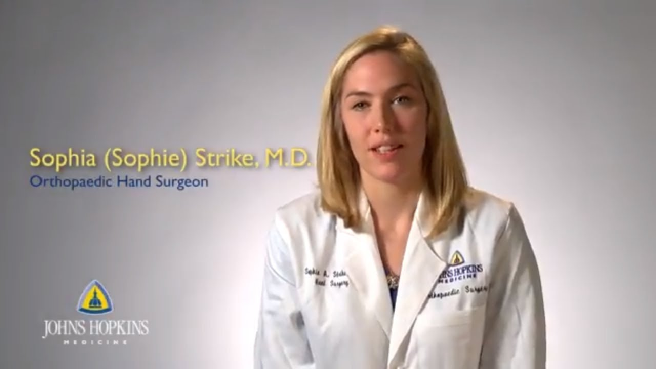 Dr  Sophia Strike   Orthopaedic Hand Surgeon