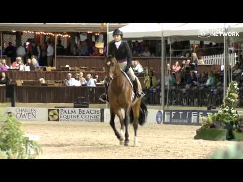 Tori Colvin and Ovation Win The 2014 #HunterSpectacular