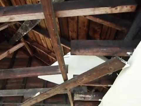 How To Fix A Sagging Door >> Sagging garage trusses in Charlotte NC - YouTube