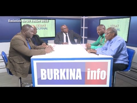 BURKINA FASO NEWS DEBAT 260715