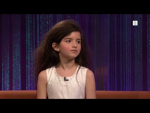Angelina Jordan - Complete Senkfeld Interview with Fly Me to the Moon - 2014