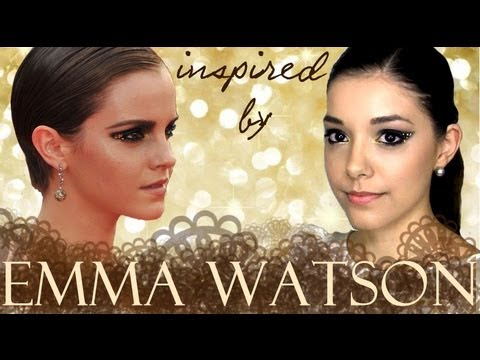 Emma Watson makeup tutorial - YouTube  Emma Watson mak...