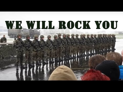Swiss Army Dance - We Will Rock You