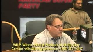 JB Campbell American Defense Party, Stew Webb, WillPWilson, Glenn Canady, AllDayLive, MediaCific,