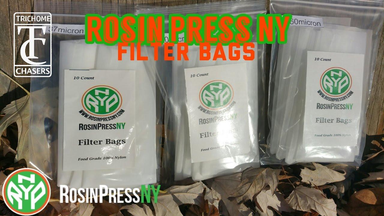 Rosin Press Ny Filter Bags