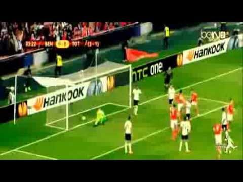 Highlights Benfica 2-2 Tottenham Europa League (20/3/2014)
