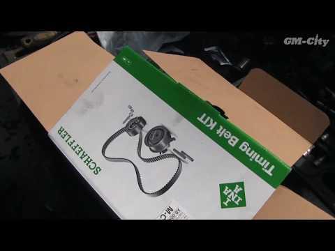 Замена ГРМ на Chevrolet Aveo T300 1.6