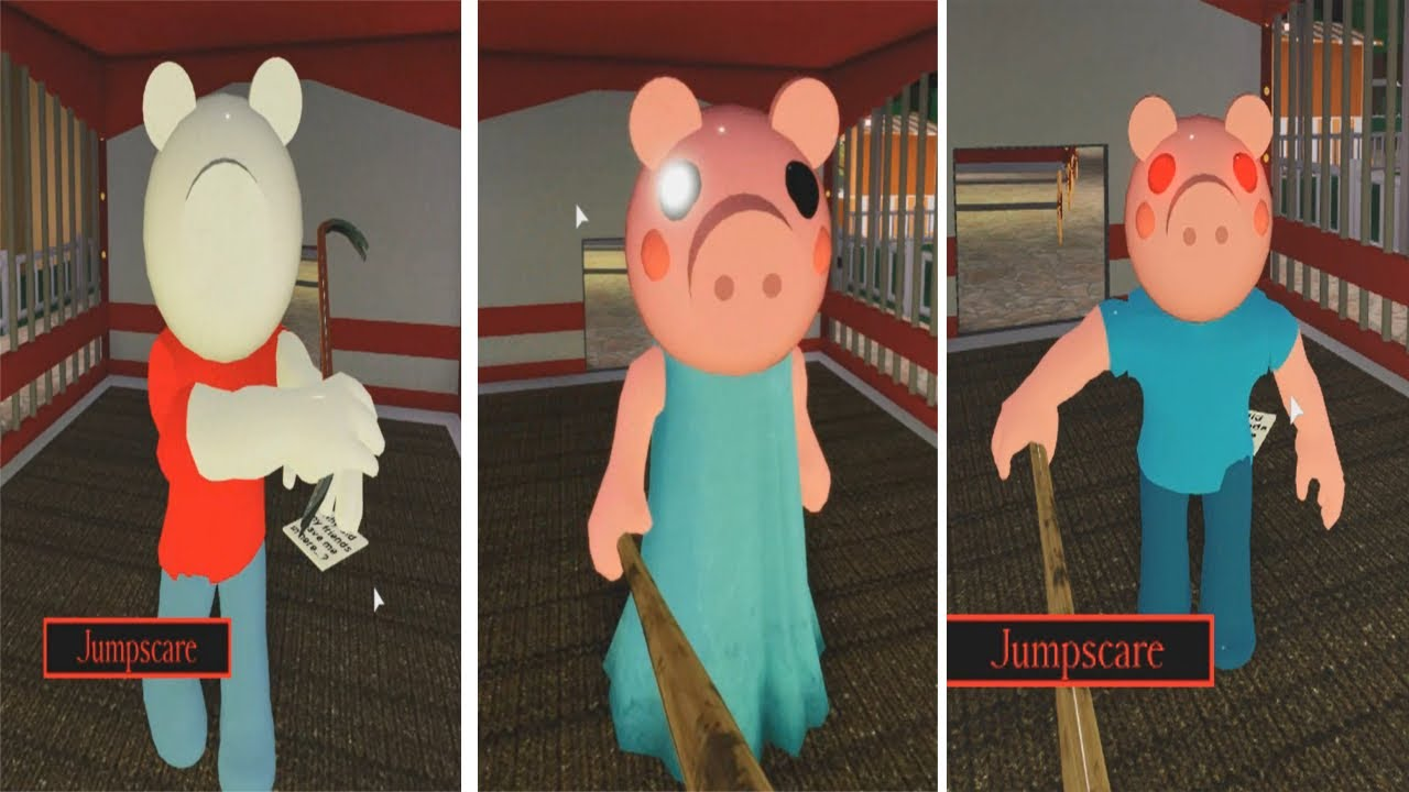 NEW EVOLUTION OF PIGGY GEORGE JUMPSCARE