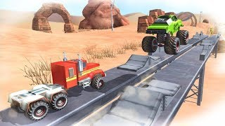 Hill Drive Challenge - Off Road Monster Truck Driving