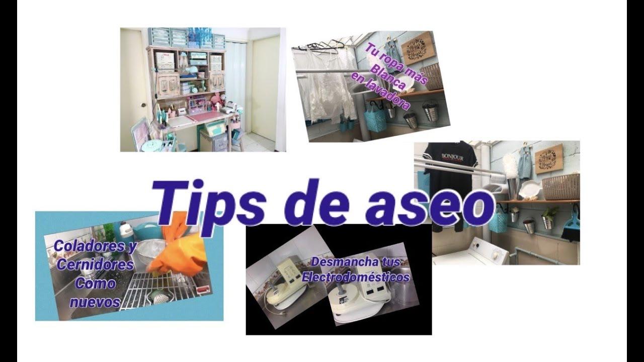 Tips de Aseo