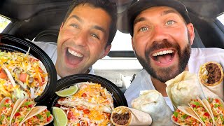 JOSH AND JOE TRY THE BEST MEXICAN FOOD, NACHOS, BURRITOS, AND MORE!