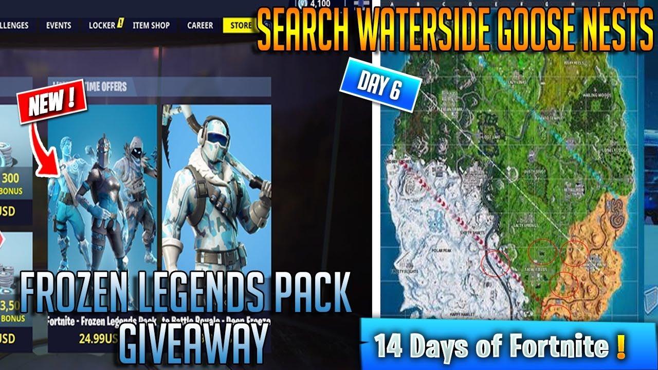 New Waterside Goose Nest Locations Frozen Legends Pack Giveaway