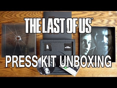 The Last Of Us Collector's Limited Edition Press Kit Unboxing & Review - HD 1080p