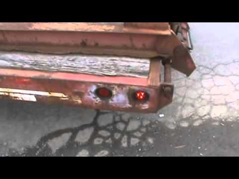 1998 Eager Beaver 20XPT Equipment Low Boy Trailer For Sale Air Brake