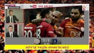 GSTVde Gol Anları (Galatasaray 1-2 Başakşehir 4 Kasım Cuma)