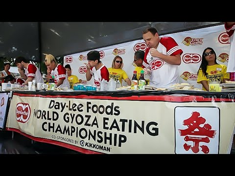 REMATCH VS MATT STONIE | WORLD DUMPLING EATING CHAMPIONSHIPS | LA Mini-Series Pt.4