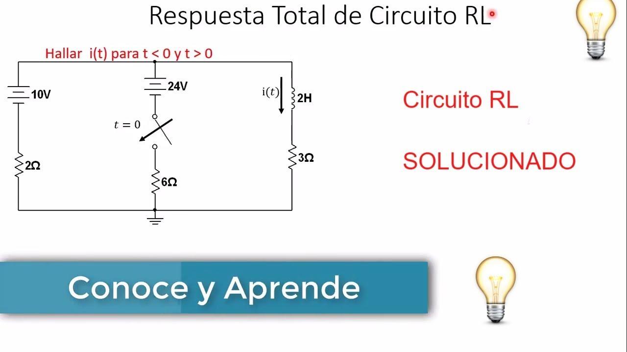 Circuito Rl : Circuito rl ejemplo respuesta total respuesta forzada