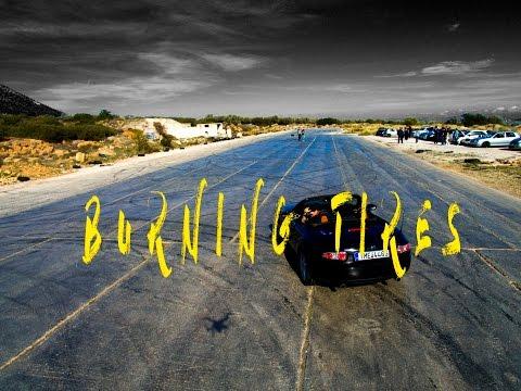 Burning tires at Sesi