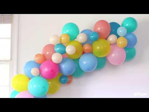 3 Easy DIY Balloon Party Decoration Ideas
