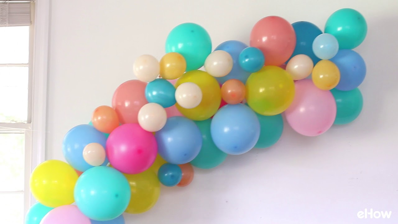 8 Easy DIY Balloon Party Decoration Ideas