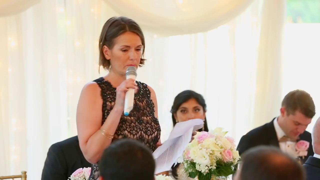 Monson Wedding Mother Of The Groom Speech