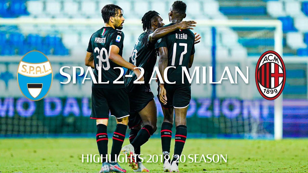 Highlights | SPAL 2-2 AC Milan | Matchday 29 Serie A TIM 2019/20