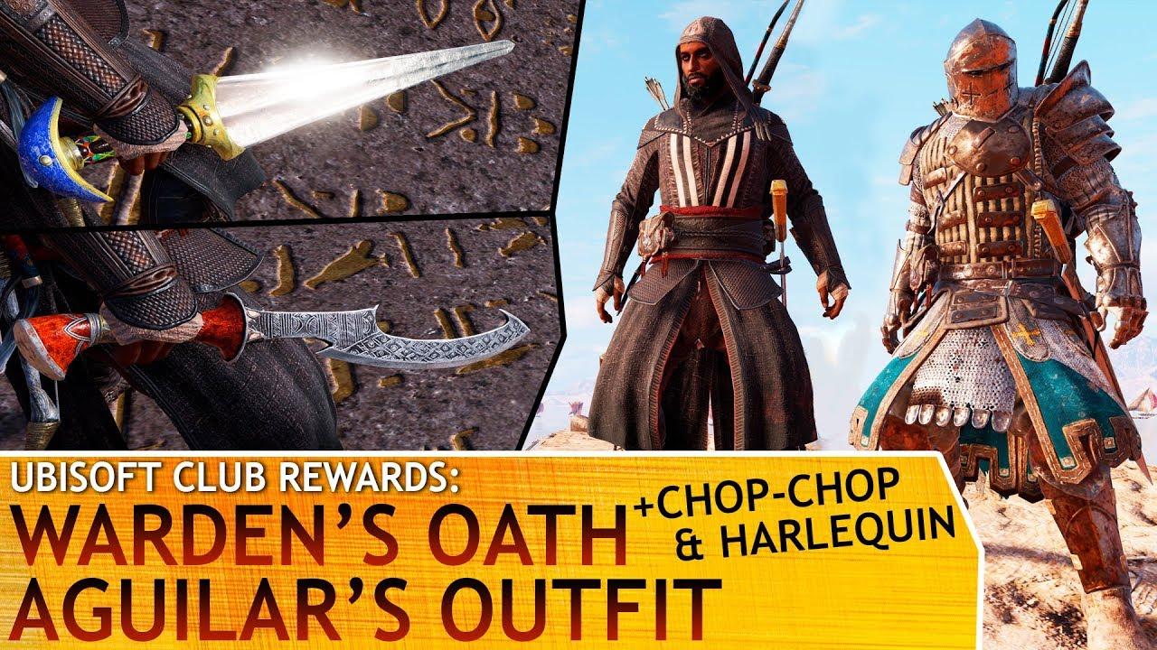 Assassin's Creed: Origins - Warden's Oath - Aguilar's ...