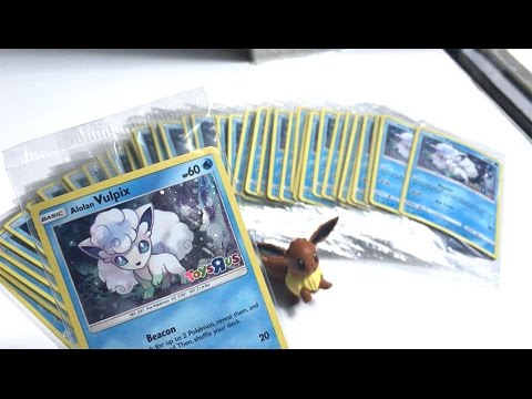 TOYS R US POKEMON TRADE AND COLLECT SPECIAL EVENT! - Too Many FREE Pokemon Cards!