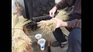 Broom making lesson Part 1