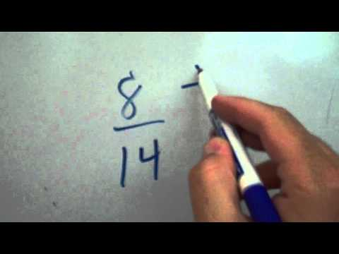 Reducing Fractions to Simplest Form - YouTube