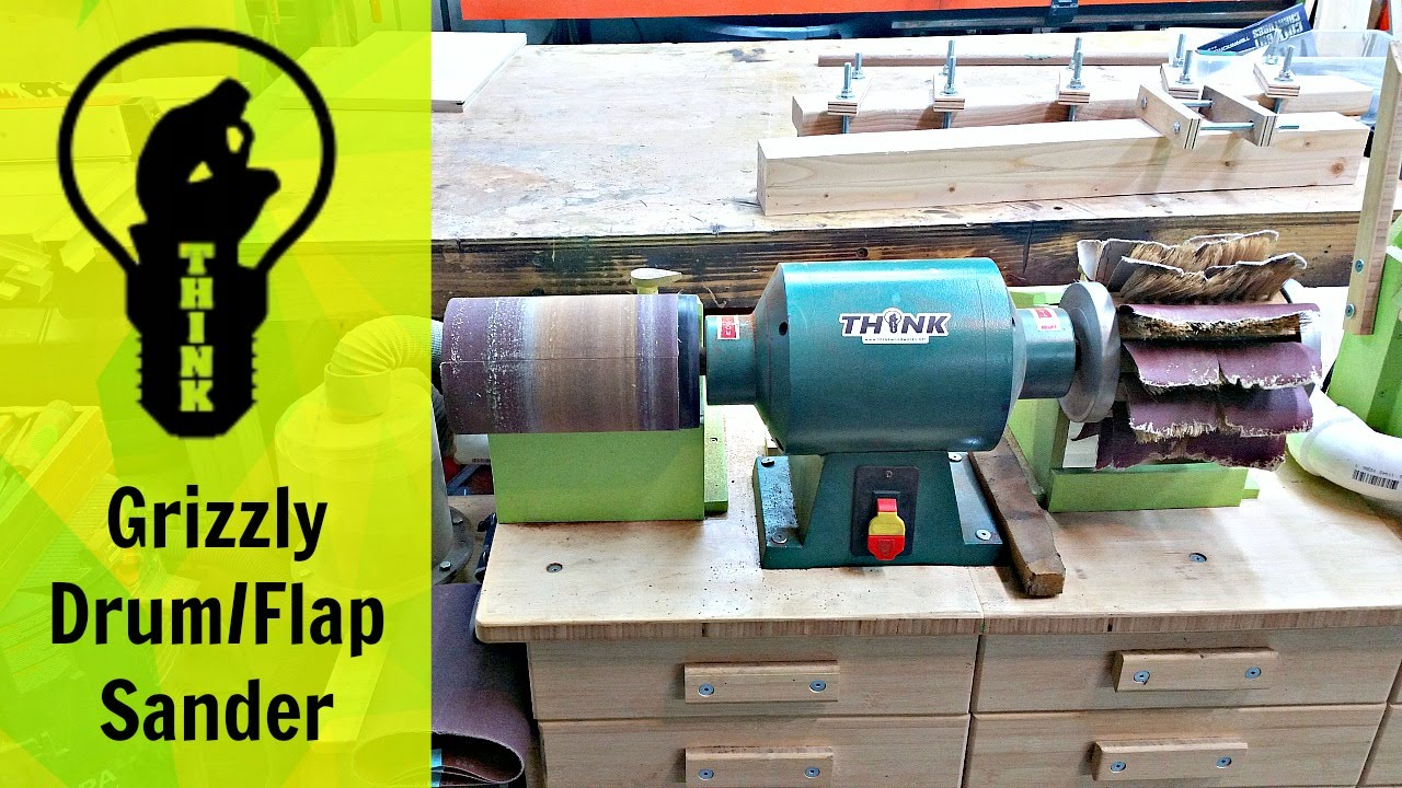 Grizzly Drum Flap Sander Combo Tool Talk Tips Eps 1