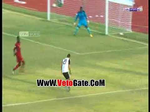 شيكابالا يسجل الهدف الأول لمنتخب مصر في مرمي غانا