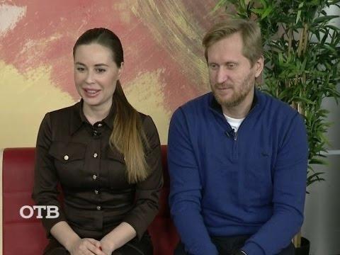 Уральские пельмени Андрей Рожков и Юлия Михалкова на УТРОтв (10.12.15)